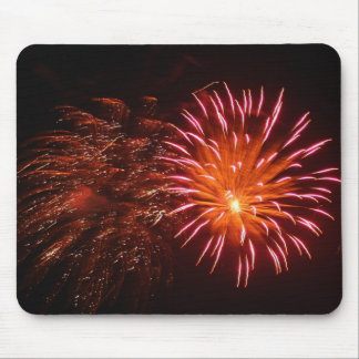 firework mouse pad