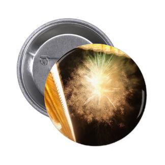 Firework Pinback Button