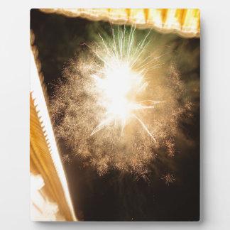 Firework Plaque