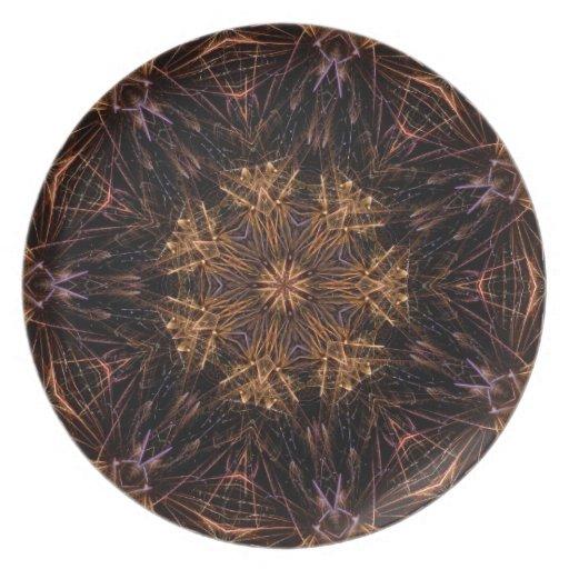 Firework Plates