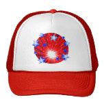 Firework Red White Blue hat