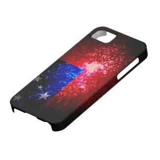 Firework; Samoa Flag iPhone SE/5/5s Case