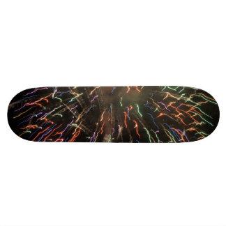 Firework skateboard