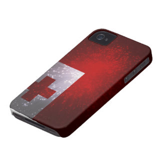 Firework; Tonga Flag iPhone 4 Case