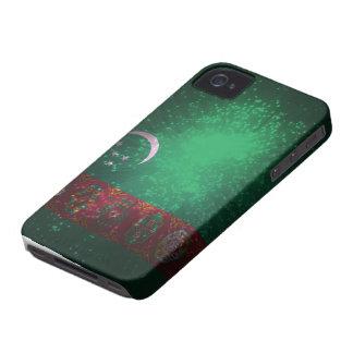 Firework; Turkmenistan Flag iPhone 4 Case-Mate Case