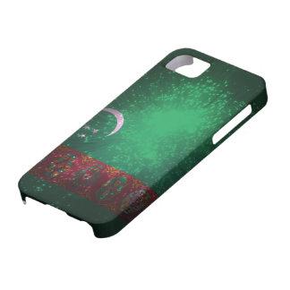 Firework; Turkmenistan Flag iPhone SE/5/5s Case
