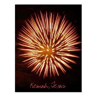 Fireworks1c postcard - customized