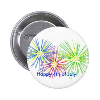 ¡fireworks2 feliz el 4 de julio pin