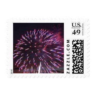 Fireworks 10 - postage stamps