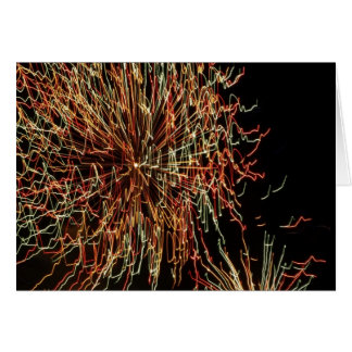 Fireworks 110 card