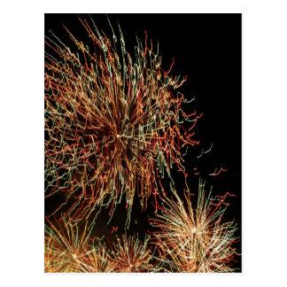 Fireworks 110 postcard
