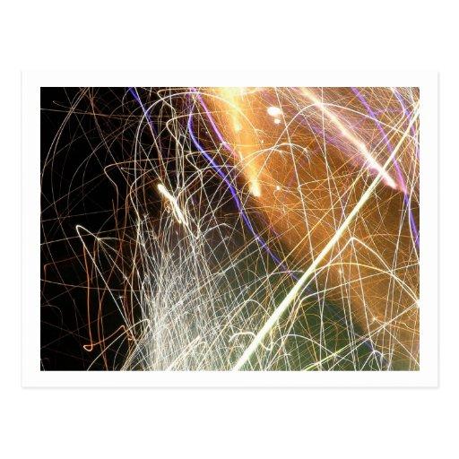 Fireworks (13) Postcard