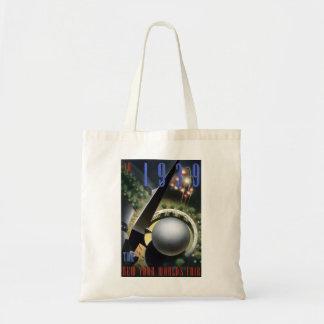 """""""Fireworks"""" - 1939 NY World's Fair  Bag"""