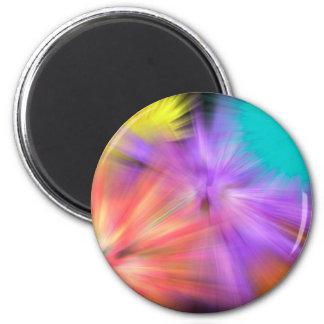 Fireworks #1 2 inch round magnet
