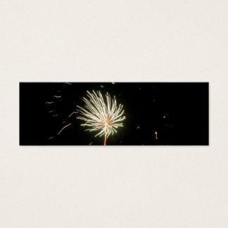 Fireworks 1 Bookmark Mini Business Card