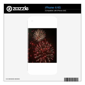 Fireworks 1 decal for iPhone 4