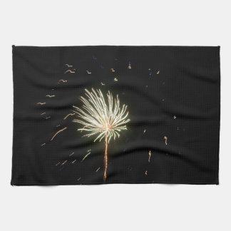 Fireworks 1 kitchen towel