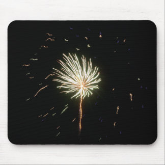 Fireworks 1 mouse pad