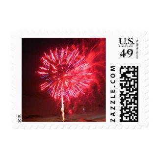 Fireworks 1 - postage stamps