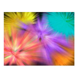 Fireworks #1 postcard