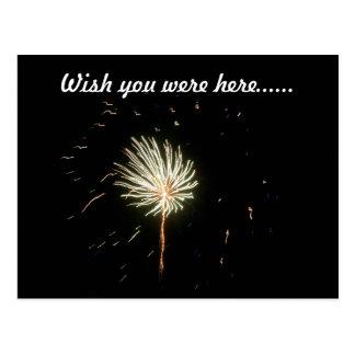 Fireworks 1 postcard