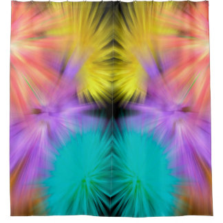 Fireworks #1 shower curtain