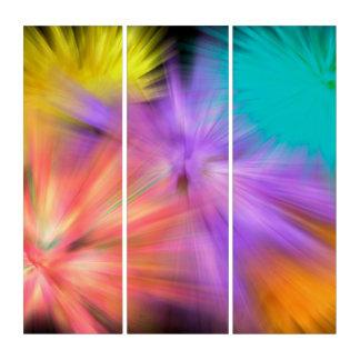 Fireworks #1 triptych
