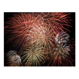 Fireworks 20 postcard