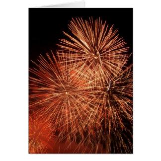Fireworks 21 card