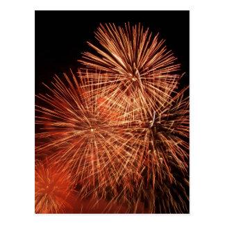 Fireworks 21 postcard