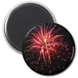Fireworks 2 2 inch round magnet
