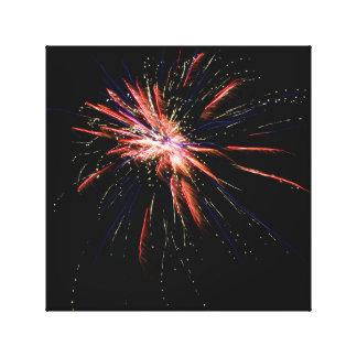Fireworks #2 canvas print
