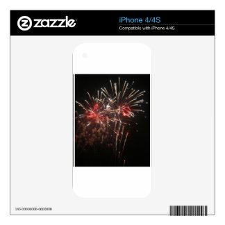 Fireworks 2 iPhone 4 skin