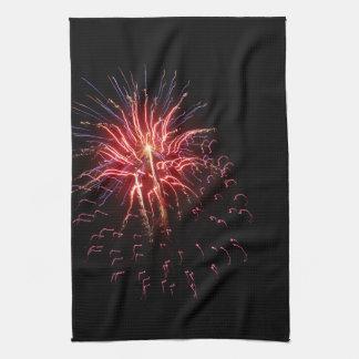 Fireworks 2 kitchen towel