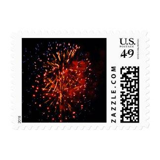 Fireworks 2 - postage stamps