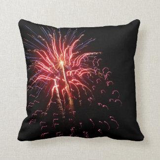 Fireworks 2 throw pillow