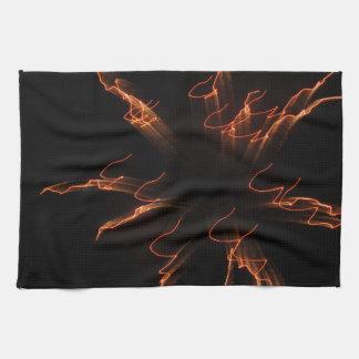 Fireworks 3 hand towel