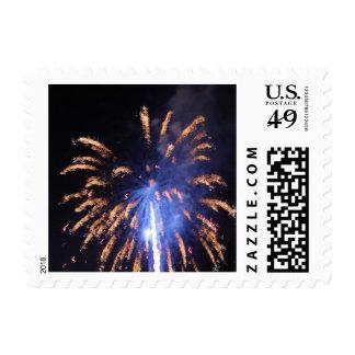Fireworks 3 - postage stamps