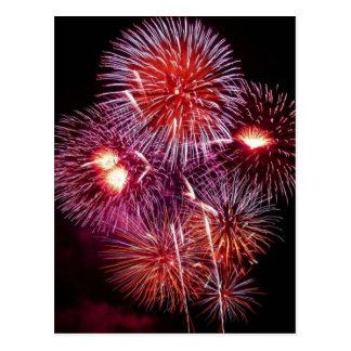 Fireworks 3 postcard