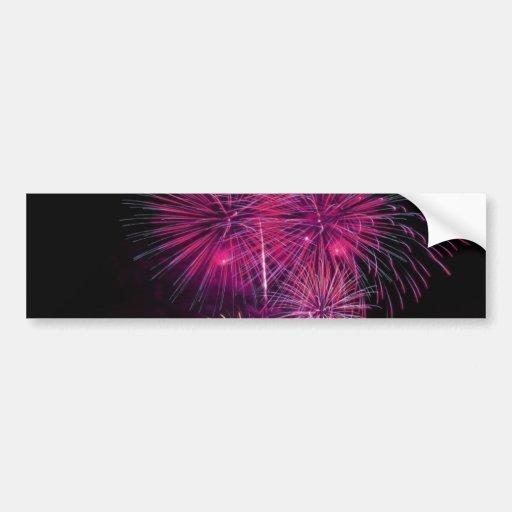 Fireworks 4 car bumper sticker