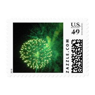 Fireworks 4 - postage stamps