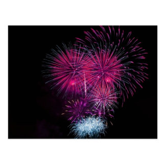 Fireworks 4 postcard