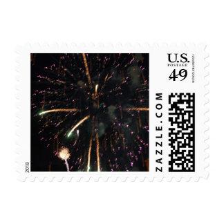 Fireworks 6 - postage stamps