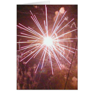 Fireworks 7 card