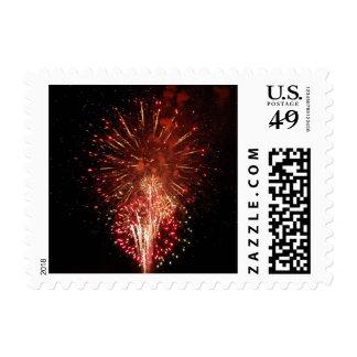 Fireworks 7 - postage stamps