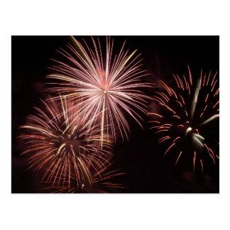 Fireworks 8 postcard