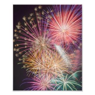Fireworks 8x10 print