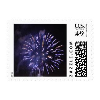 Fireworks 9 - postage stamps