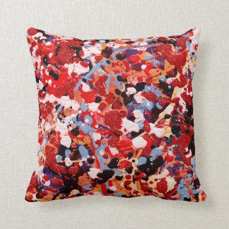 FIREWORKS ~ (abstract art design) ~ Throw Pillow