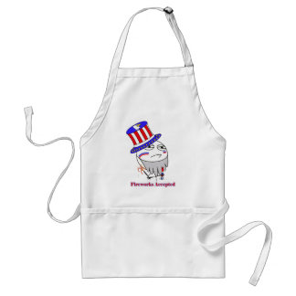 Fireworks Accepted! Apron